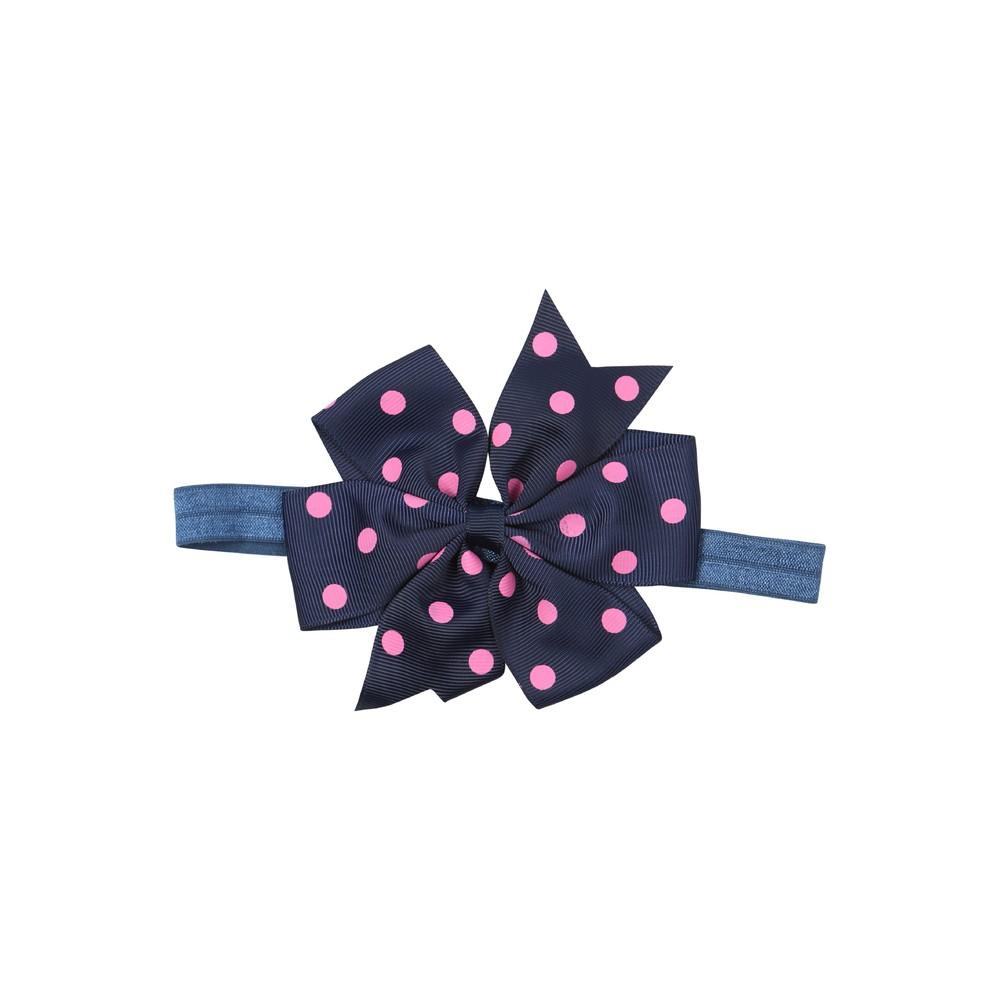 Pascal hårbånd med stor sløyfe, marineblå